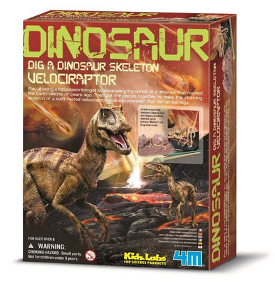 4M - Dig a Dinosaur - Velociraptor