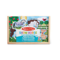Melissa & Doug - Show Horse Magnetic Dress Up Play Set