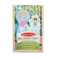 Melissa & Doug - Ballerina Fairy Magnetic Dress Up Play Set