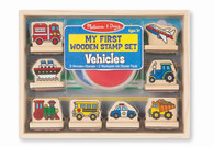 Melissa & Doug - My First Wooden Stamp Set - Vehicles MND2391