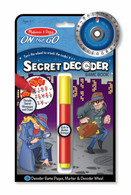 Melissa & Doug - On The Go - Secret Decoder - Game Book