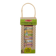 Melissa & Doug - Natural Play - Book Tower - Little Learning Books