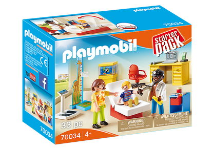 Playmobil - StarterPack Pediatrcian's Office PMB70034
