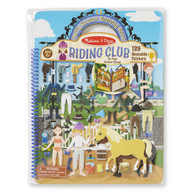 Melissa & Doug - Reusable Puffy Sticker Activity Book - Riding Club