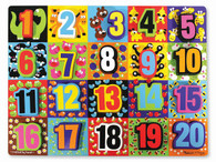 Melissa & Doug - Chunky Puzzle Jumbo Numbers