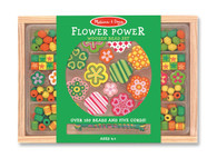 Melissa & Doug Flower Power Wooden Bead Set