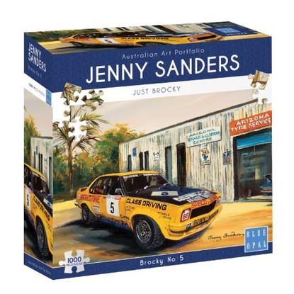 Blue Opal - Brocky No 5 1000 piece Jenny Sanders BL02048