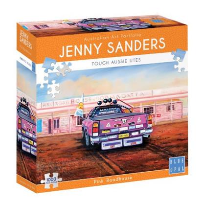 Blue Opal - Pink Roadhouse 1000 piece Jenny Sanders BL02047