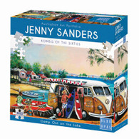 Blue Opal - Camp Out on the Lake 1000 piece Jenny Sanders BL02039