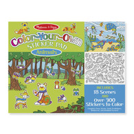 Melissa & Doug - Color-Your-Own Sticker Pad - Animals