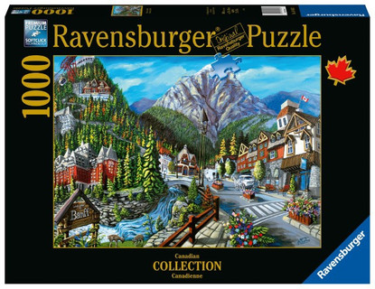 Welcome to Banff 1000pc jigsaw puzzle RB16481-3