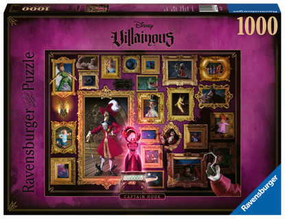 Ravensburger - Disney Villainous: Captain Hook 1000pc
