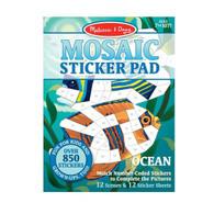 Melissa & Doug - Mosaic Sticker Pad - Ocean MND30161