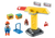 Playmobil 1.2.3 - Construction Crane PMB70165 contents