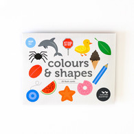 Colour and Shape Flash Cards 25 pack - Two Little Ducklings