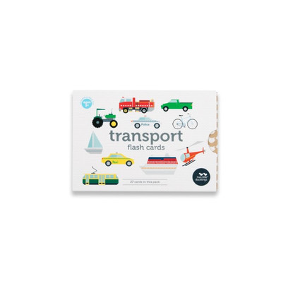 Transport Flash Cards 27 Pack (with bag) - Two Little Ducklings