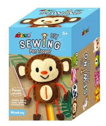 Avenir - Sewing Pen Topper - Monkey