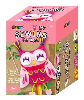 Avenir - Sewing Pen Topper - Owl