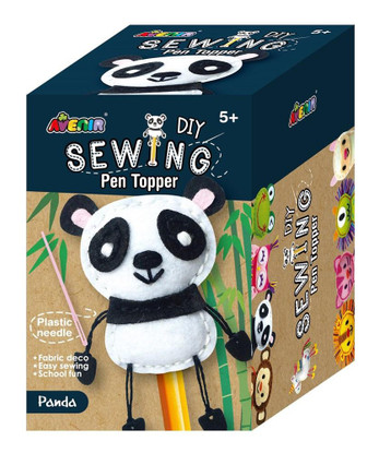Avenir - Sewing Pen Topper - Panda