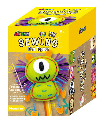 Avenir - Sewing Pen Topper- Monster