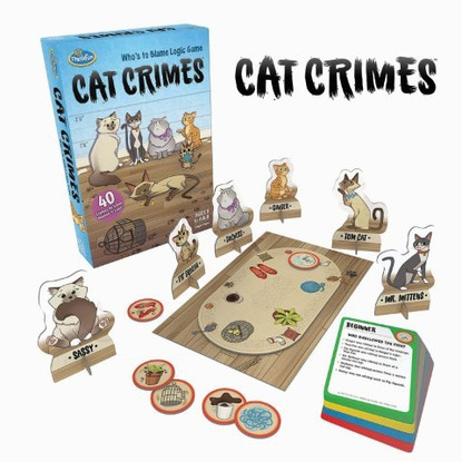 ThinkFun - Cat Crimes Game TN1550