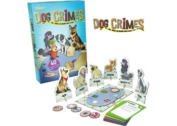 ThinkFun - Dog Crimes TN1552