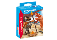 Playmobil - Caveman with Sabertooth Tiger Special Plus PMB9442