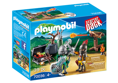 Playmobil - StarterPack Knight's Treasure Battle PMB70036
