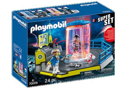 Playmobil - SuperSet Galaxy Police Rangers PMB70009