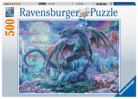 Ravensburger - Mystical Dragons 500 piece RB14839-4