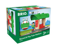 BRIO - Destination - Record & Play Train Platform BRI33840