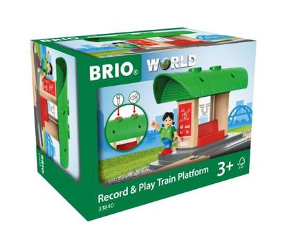 BRIO - Destination - Record & Play Train Platform BRI33840