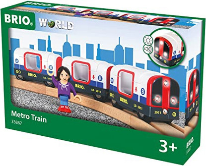 BRIO - Metro Train 4pcs BRI33867