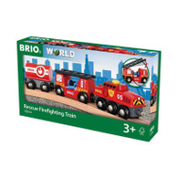 BRIO - Rescue Firefighting Trai 3pcs BRI33844