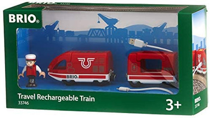 BRIO - Travel Rechargeable Train 4 pieces BRI33746