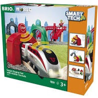 BRIO - Smart Engine Set with Action Tunnels BRI33873
