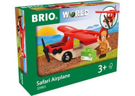 BRIO - Vehicle Safari Airplane, 3pcs BRI33963