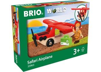 BRIO - Vehicle Safari Airplane, 3pcs BRI33963