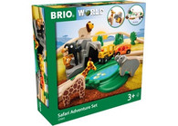 BRIO - Set Safari Adventure Set, 26 pcs BRI33960