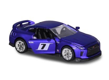 Majorette - Nissan GT-R Purple Matte Metallic