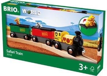 BRIO - Safari Train 3 pc BRI33722