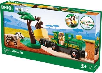 BRIO - Safari Railway Set 71pcs BRI33720