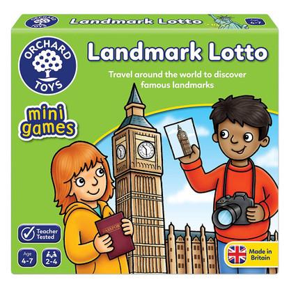 Orchard Toys - Mini Games - Landmark Lotto OC364