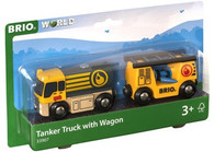 BRIO - Vehicle Tanker Truck with Hose Wagon BRI33907
