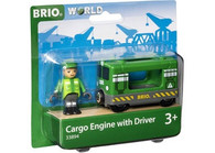 BRIO - Vehicle Cargo Engine with Driver BRI33894