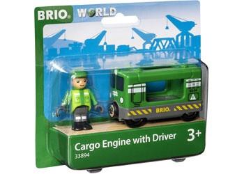 BRIO - Vehicle Cargo Engine with Driver BRI33894