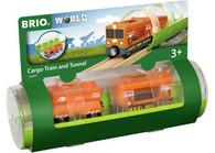 BRIO - Train Cargo Train and Tunnel, 3pcs BRI33891