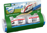 BRIO - Train Travel Train and Tunnel, 3pcs BRI33890