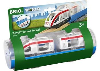 BRIO - Train Travel Train and Tunnel, 3pcs BRI33890