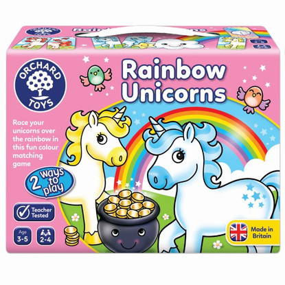Orchard Game - Rainbow Unicorns OC095